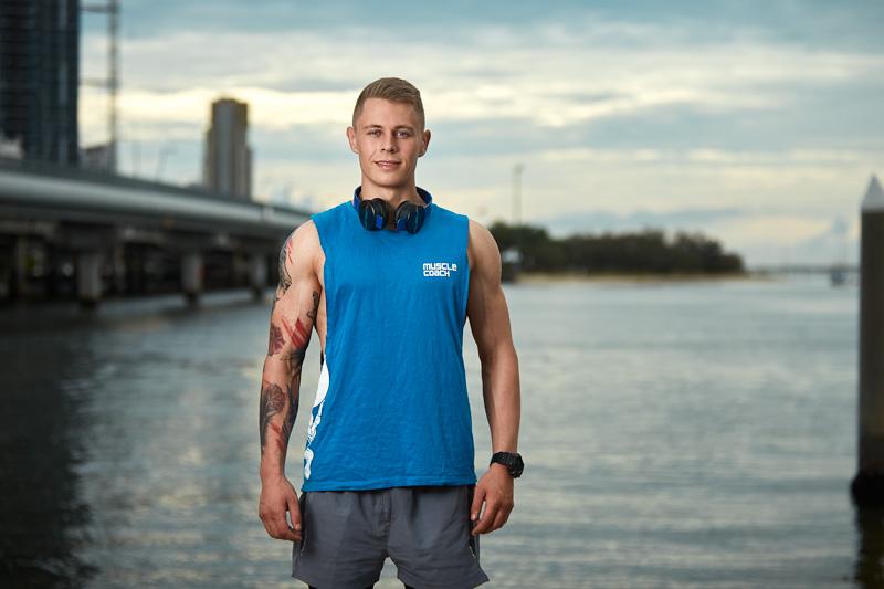 Angus Brisbane Caucasian fitness model