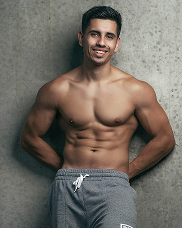 Ben P Sydney based Sri Lankan fitness model