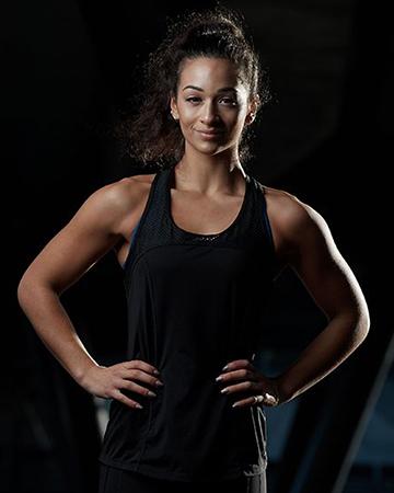 Brenice Melbourne Italian female fitness model