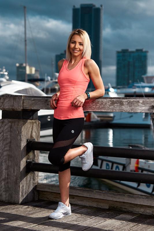 Cassandra Australia's elite fitness model