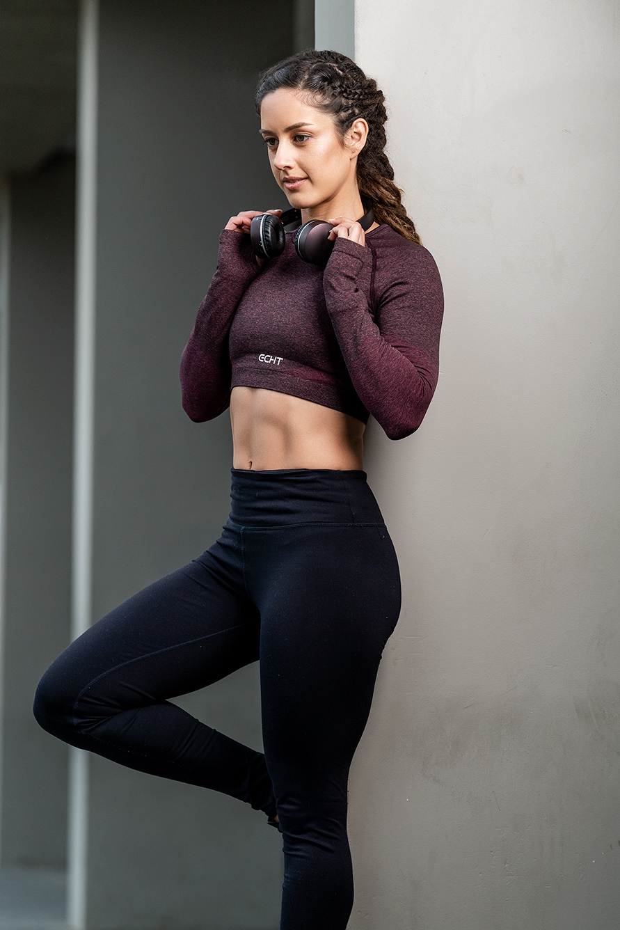 Cassandra Melbourne young female fitness model