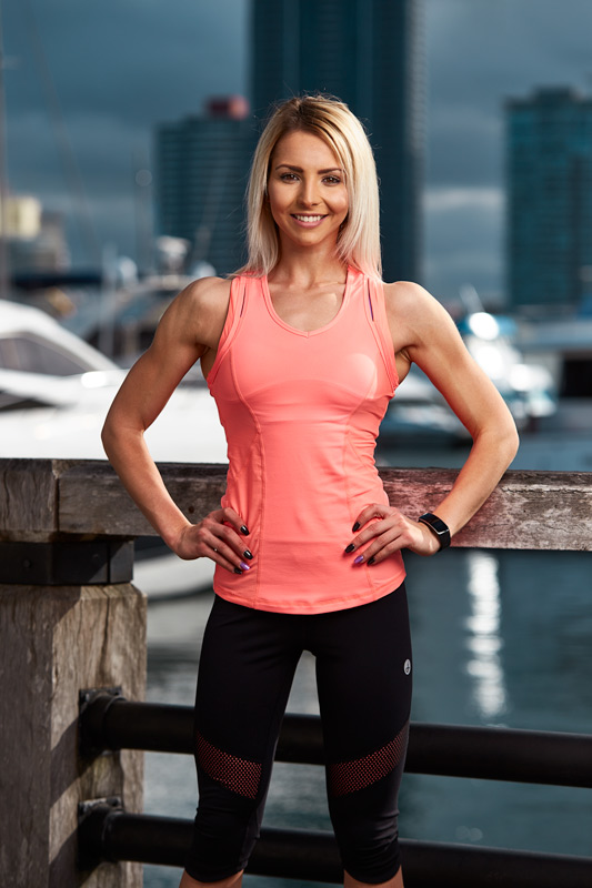 Cassandra Sunshine Coast female fitness model