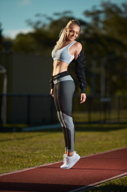Centelle Brisbane's Female Fitness model