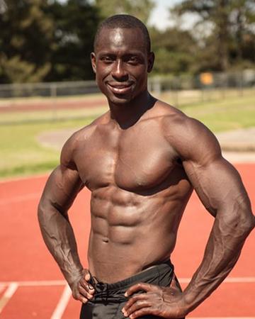 Damian African sprinter