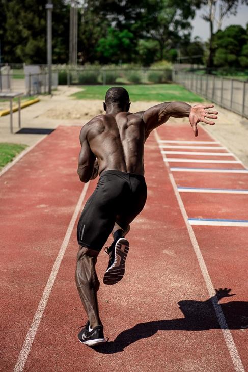 Damian Melbourne's Afro-Caribbean fitness model