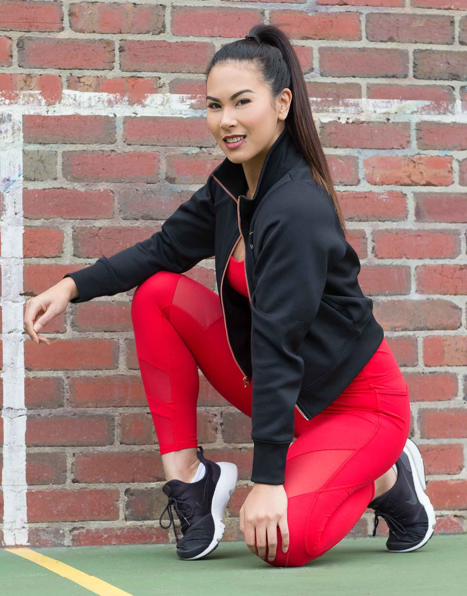 Gladysha Melbourne Fitness Female elite model featuring in Stop it I like it fitness photo shoot