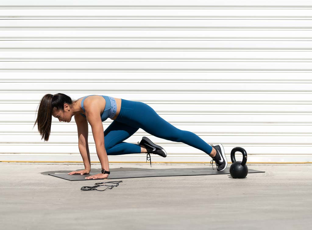 Gladysha melbounes fitness model training high itensity