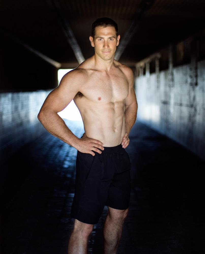 Harry Sydney exmilitary now fitness model
