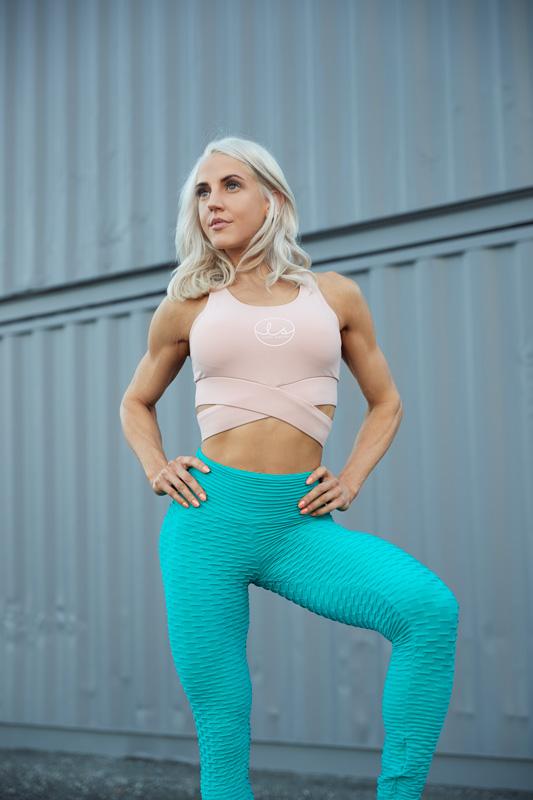 Jacquie Queensland female blonde fitness model