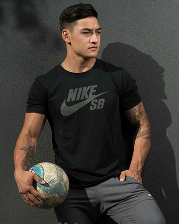 James Melbourne Italian male fitness model