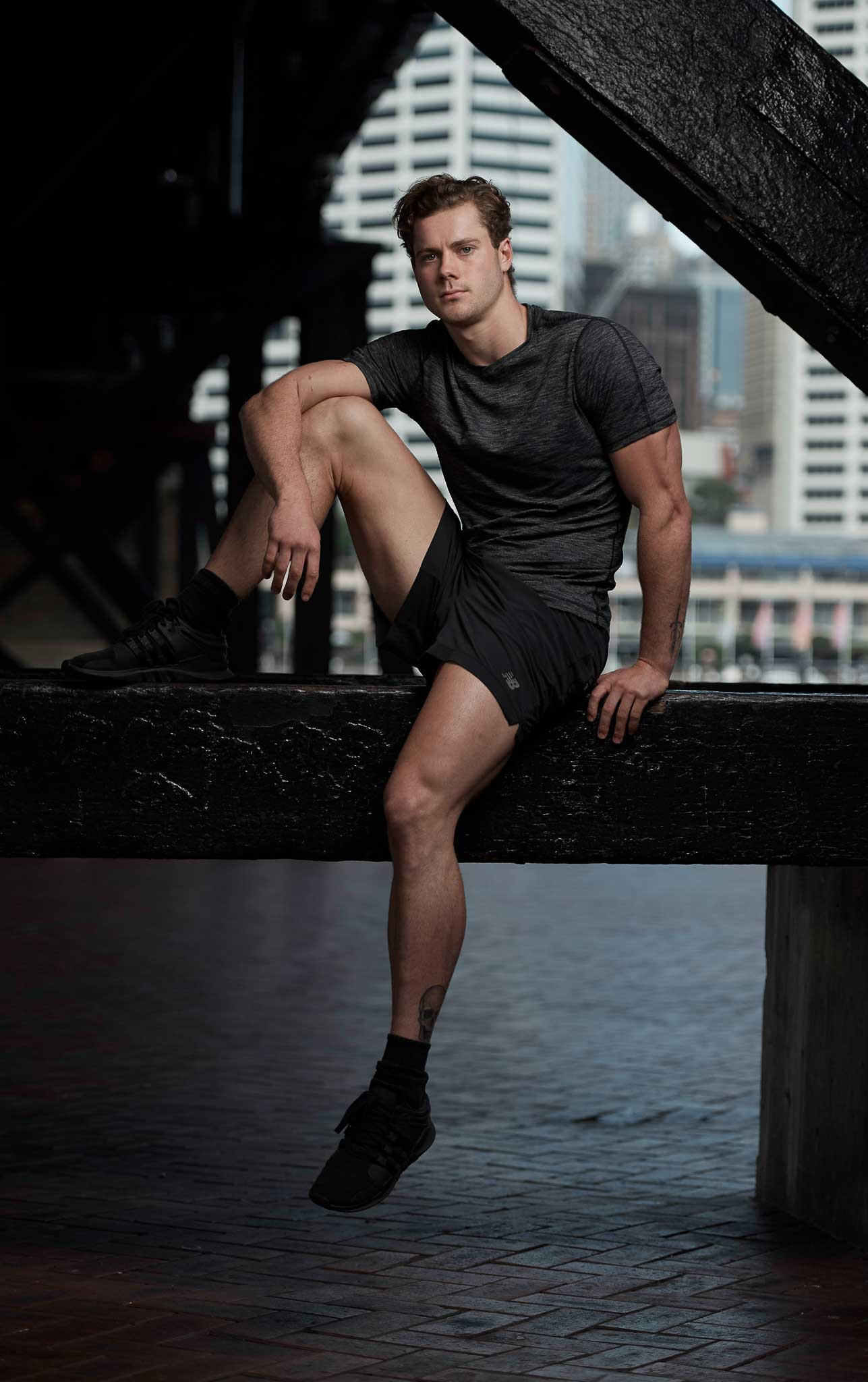 James Sydney male fitness model