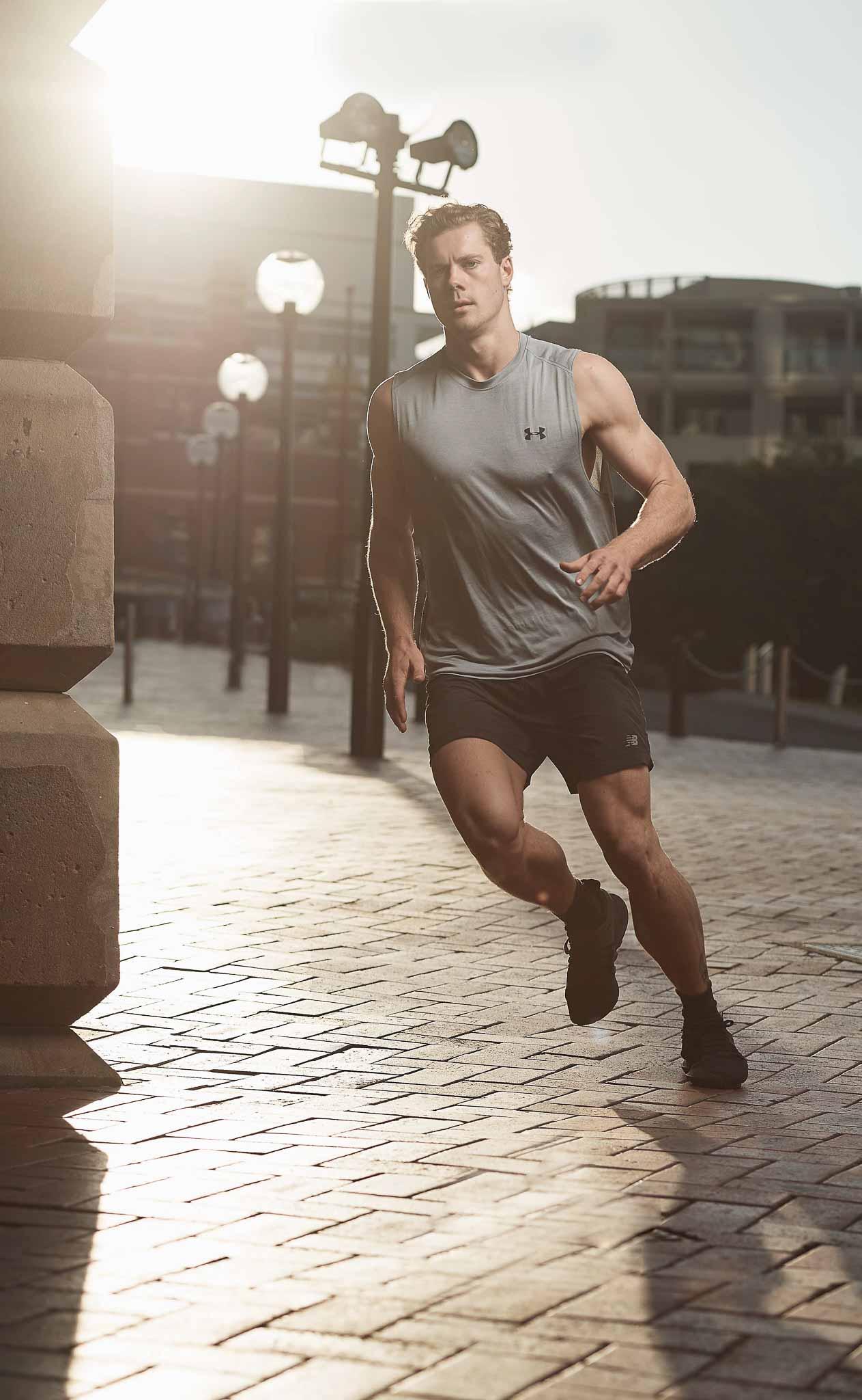 James Sydneys elite fitness model