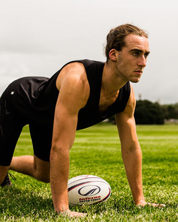 Jared rugby fitness model