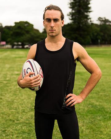 Jarred Sydney's rugby star