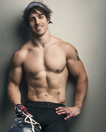 Justin Melbourne fitness NFL sports star