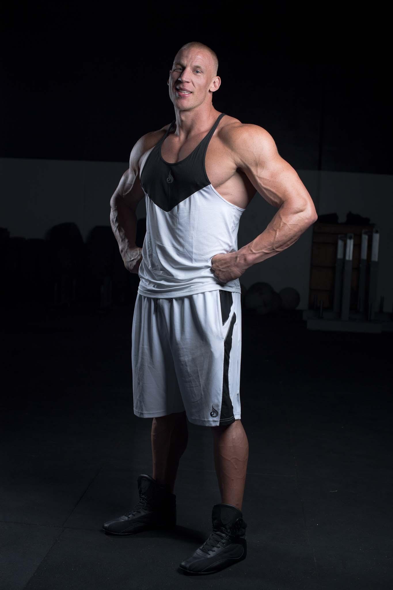 Keagan Melbourne's strongman athlete