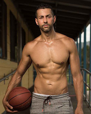 Keith Melbourne's mature male fitness model