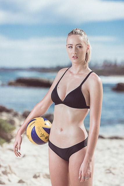 Lauren Perth's netball star