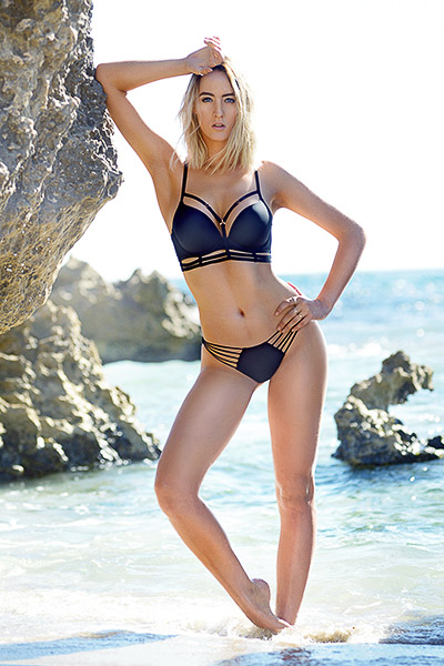 Lauren Perth female swimsuit model