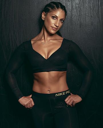 Layla Melbourne's female Mediterranean fitness model