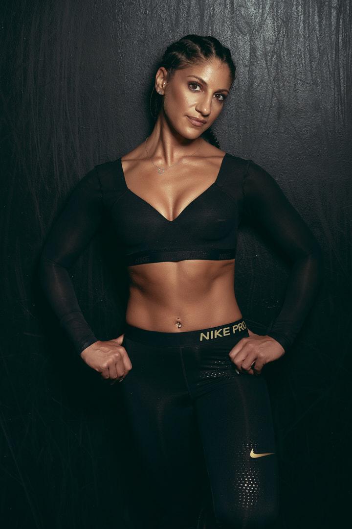 Layla Melbourne female fitness model