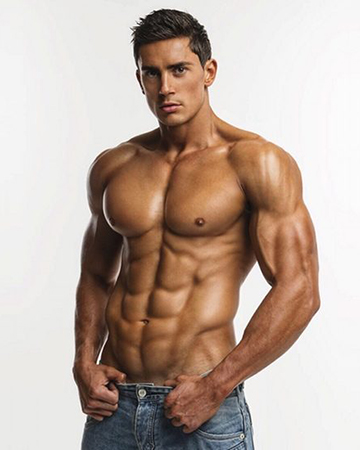 Martin S Sydney's personal trainer, athletic model