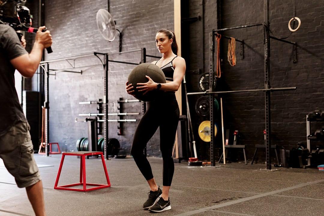 Montana Melbourne elite fitnessmodel on PRMG TVC