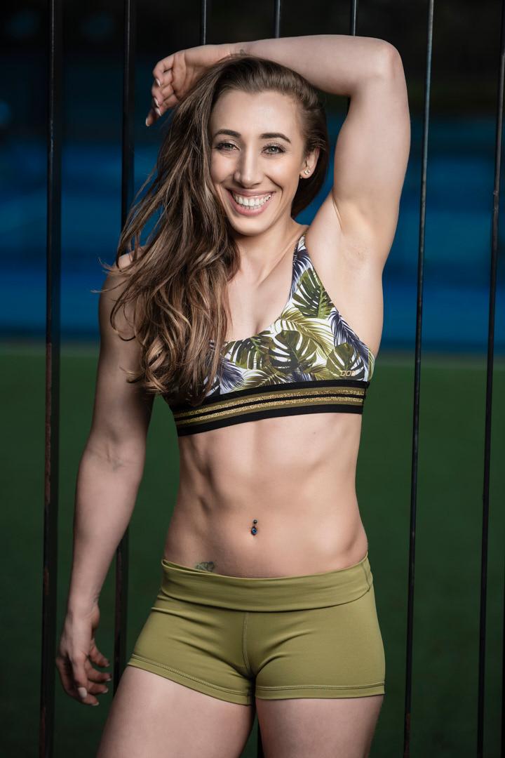 Morgana Melbourne's Italian female fitness star