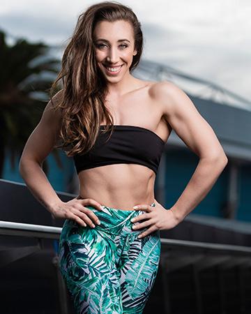 Morgana Melbourne female fitness model