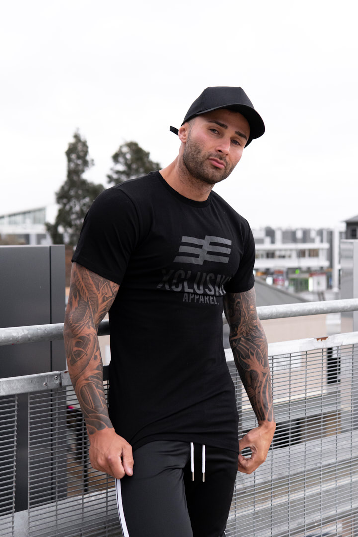 Nathan Australia's elite fitness tattooed model