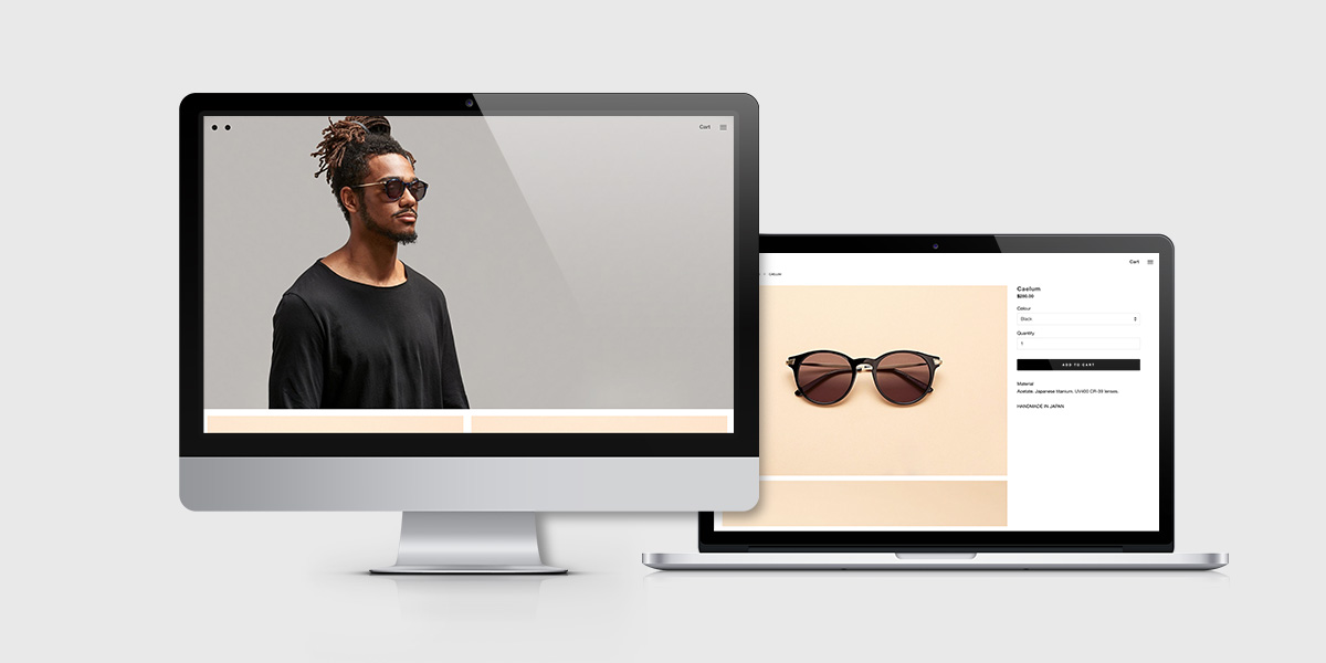 Nic featured in sunglasses campaign