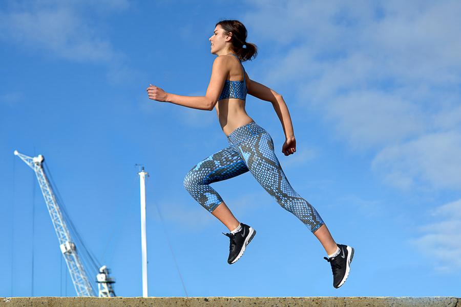 Nicola sprinting