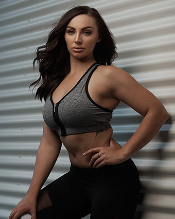 Rhiannon Queensland female fitness model
