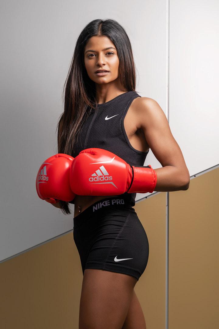 Tehanee a Sri Lankan fitness model residing in Melbourne