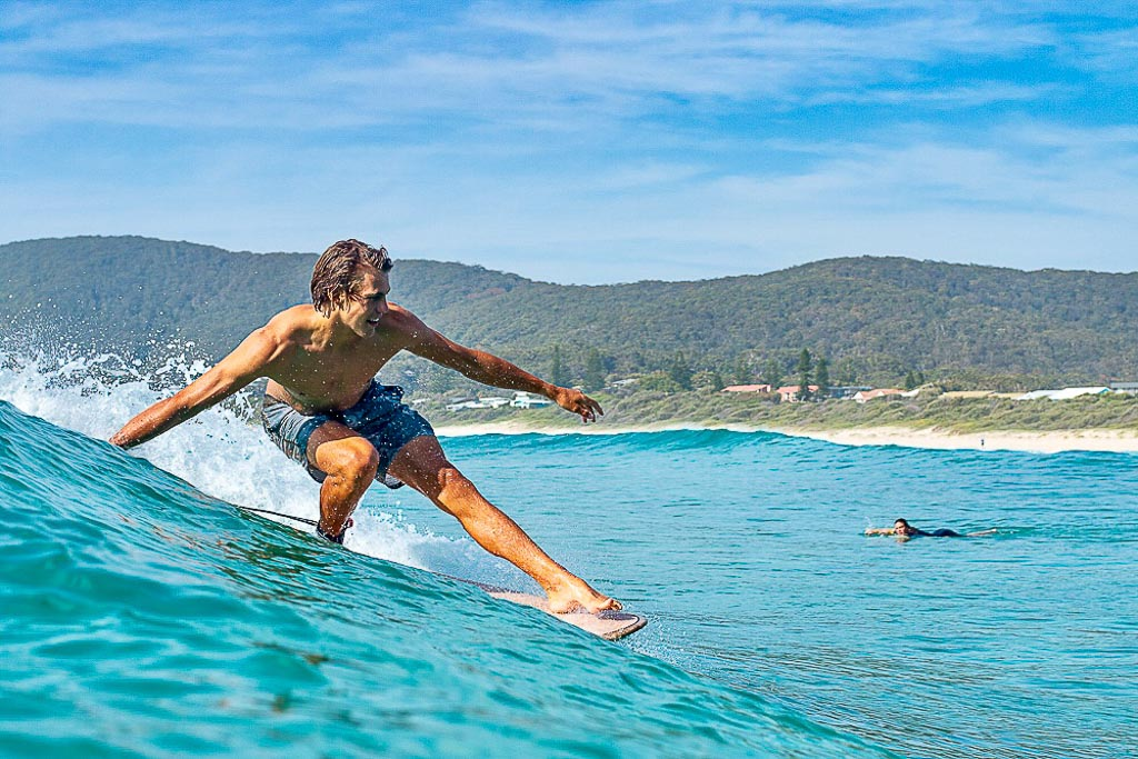 Ty surfing queensland surf