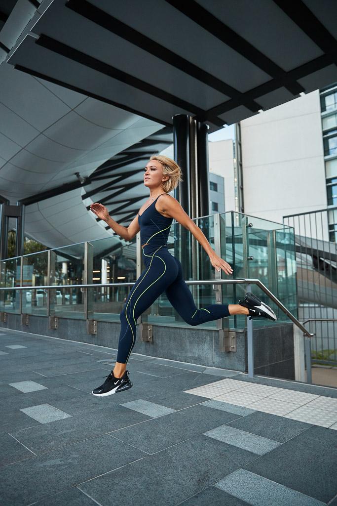 AEFM latest female fitness model Alexandra
