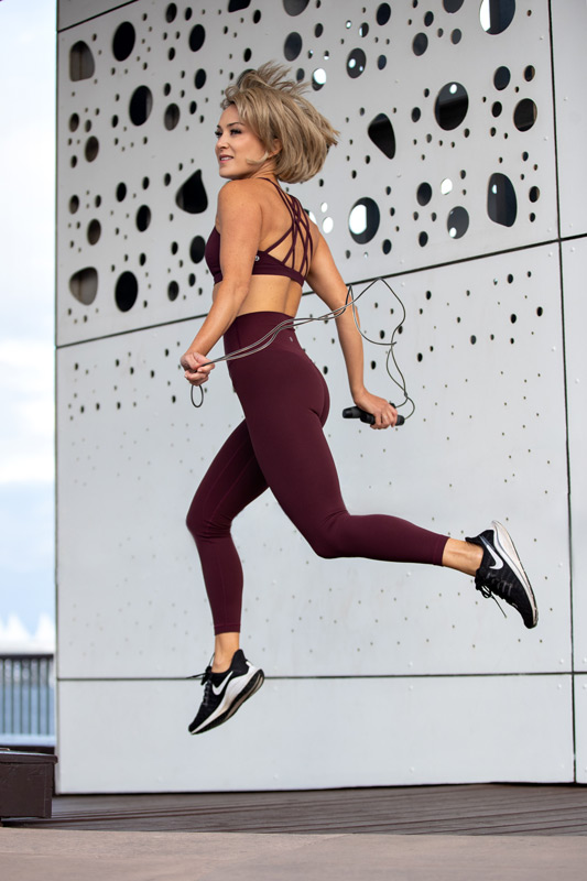 Alexandra skipping
