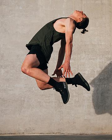 Nicholas jumping