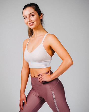 Ravyn Melbourne's female Mediterranean fitness mode