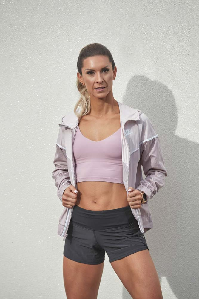 Roula Sydney is Mediterranean female fitness trainer now fitness model