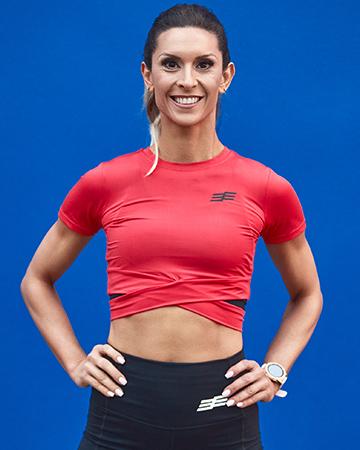 Roula Sydney's Mediterranean female fitness model