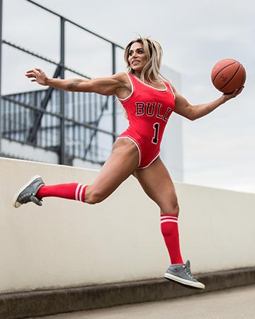 Suzan Australian bodybuilding champion
