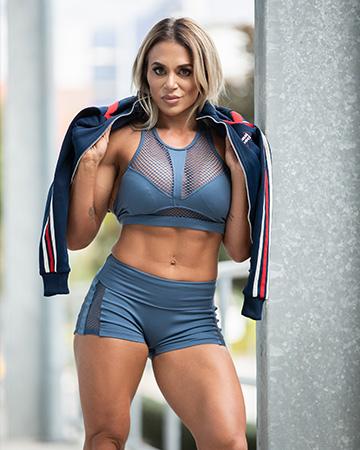 Suzan Sydneys bodybuilding champion