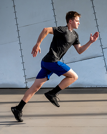 Austin Melbourne teen fitness model running