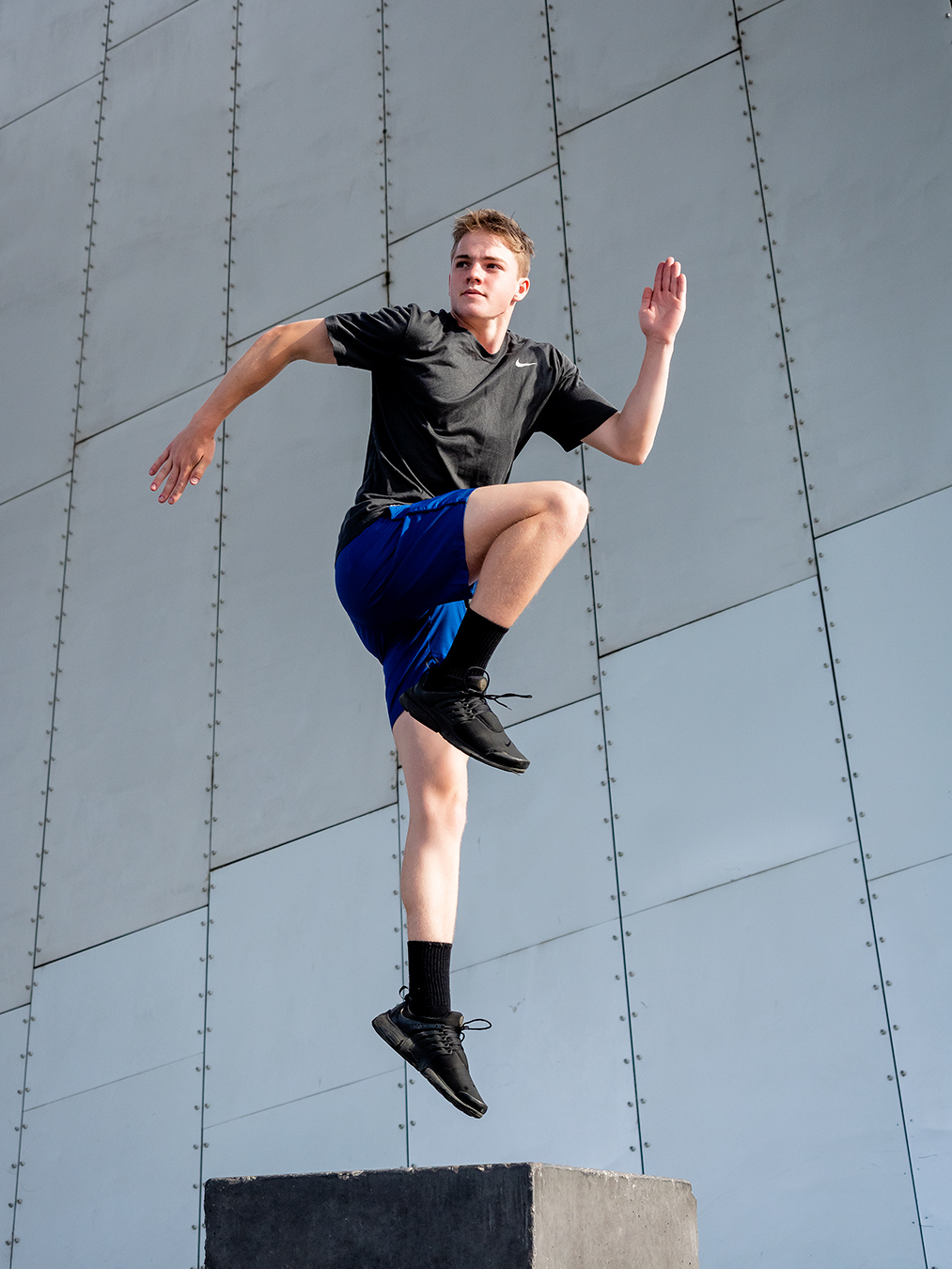 Austin Melbournes latest teen fitness model