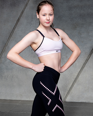 Melbournes Elite Gymnast Alyssa Teen Fitness Model