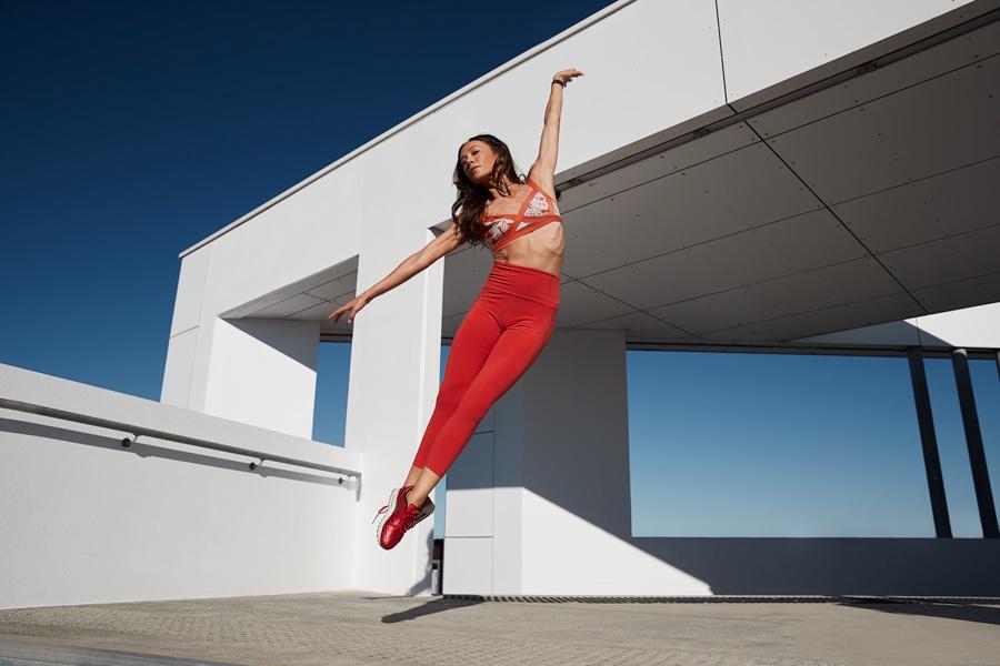 Aiko Queenslands fitness yoga specialist dancing
