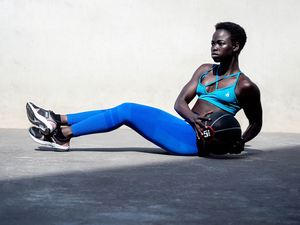 Kim Melbourne is Sudanese Fitness Model