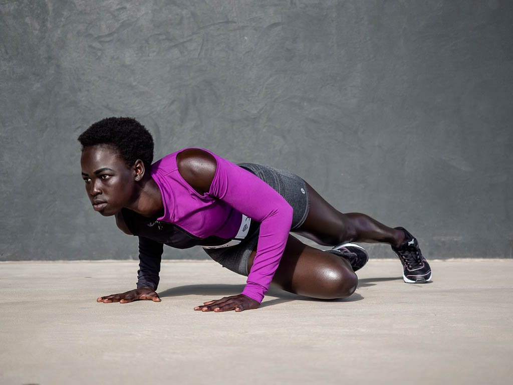 Kim Melbournes latest Sudanese Fitness Model