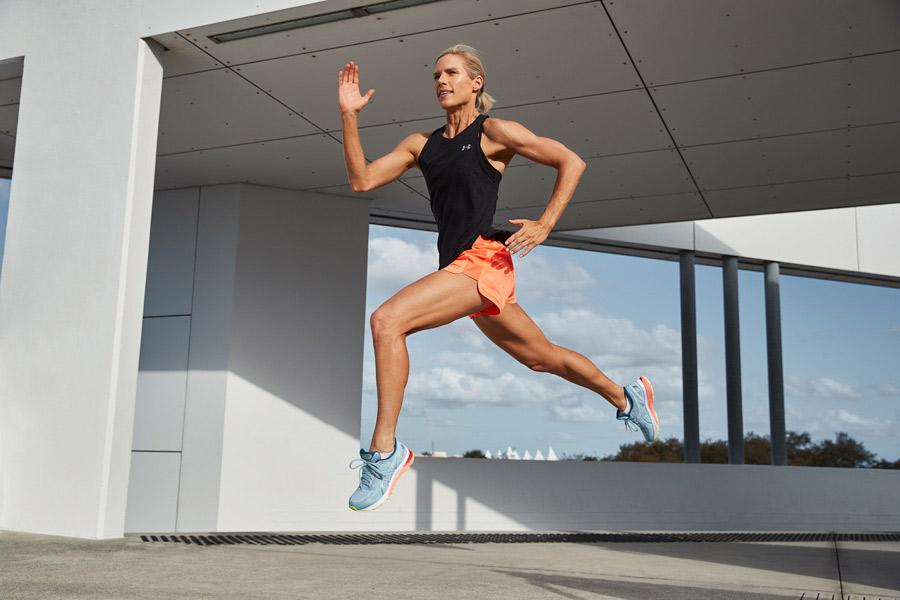Queenslands mature female fitness model Belinda bounding